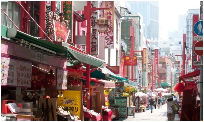 中華街画像